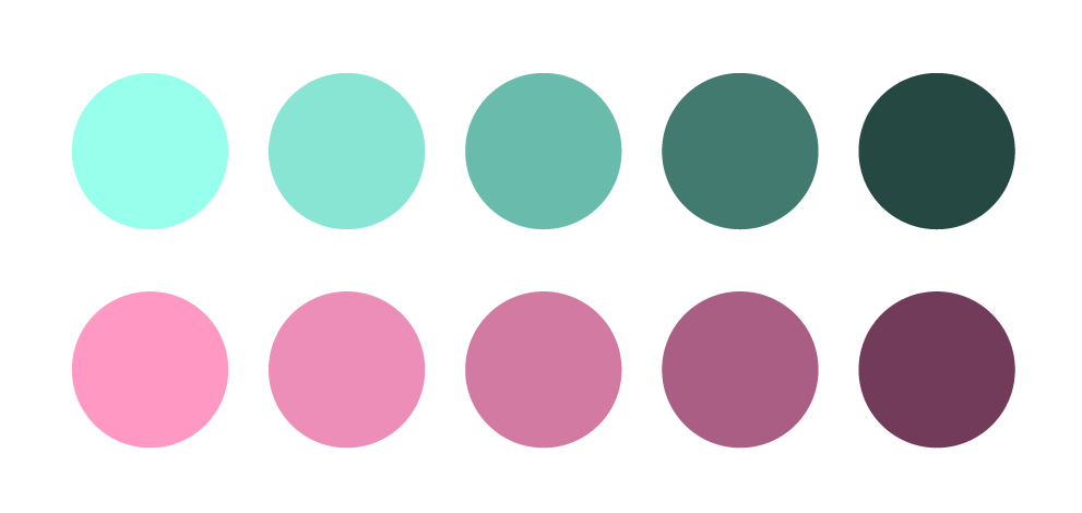 how to develop a color palette for your brand, color palettes for a brand, colors for a brand, how to pick colors for a brand, color theory, psychology of color