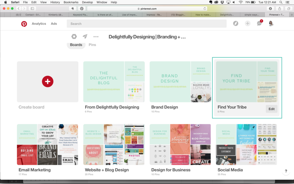 how to create branded Pinterest Board Covers, branding your Pinterest boards, pinterest board covers, pinterest covers, styling Pinterest boards, Pinterest boards