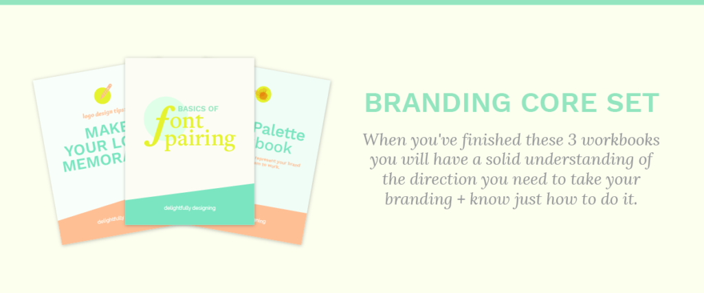 Branding, Branding Core Set, Logo Design, Font Pairing, Color Palette