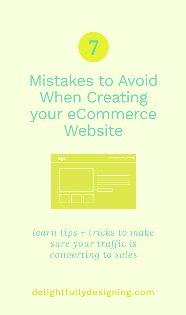7 Mistakes to Avoid When Creating Your eCommerce Website, eCommerce Website, grow your eCommerce Website, start your eCommerce Website