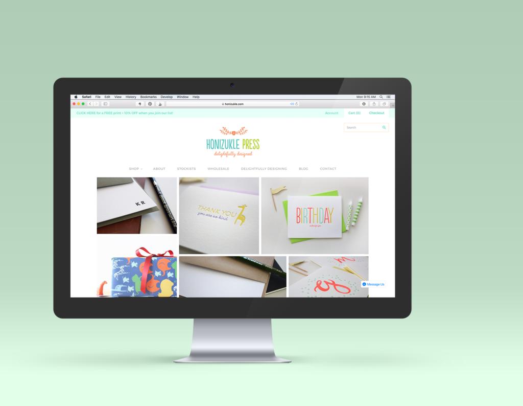 logo design, logos, logo tips, branding, brand design, letterpress, letterpress printing, honizukle press, web design, website design, full branding, brand story, branding experience