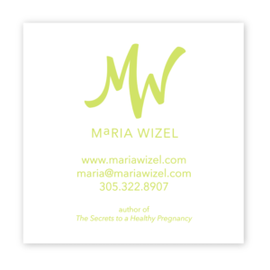 Maria Wizel Business Card