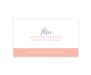 Three Little Pixies Business Card