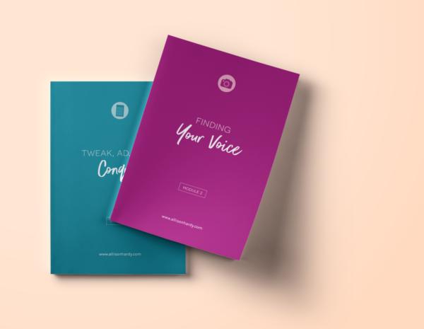 workbook design, ebook design, opt-in design, allison hardy
