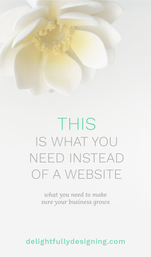 You don't need a website! Find out the powerful thing you need instead and how it can change your business if you build it right!