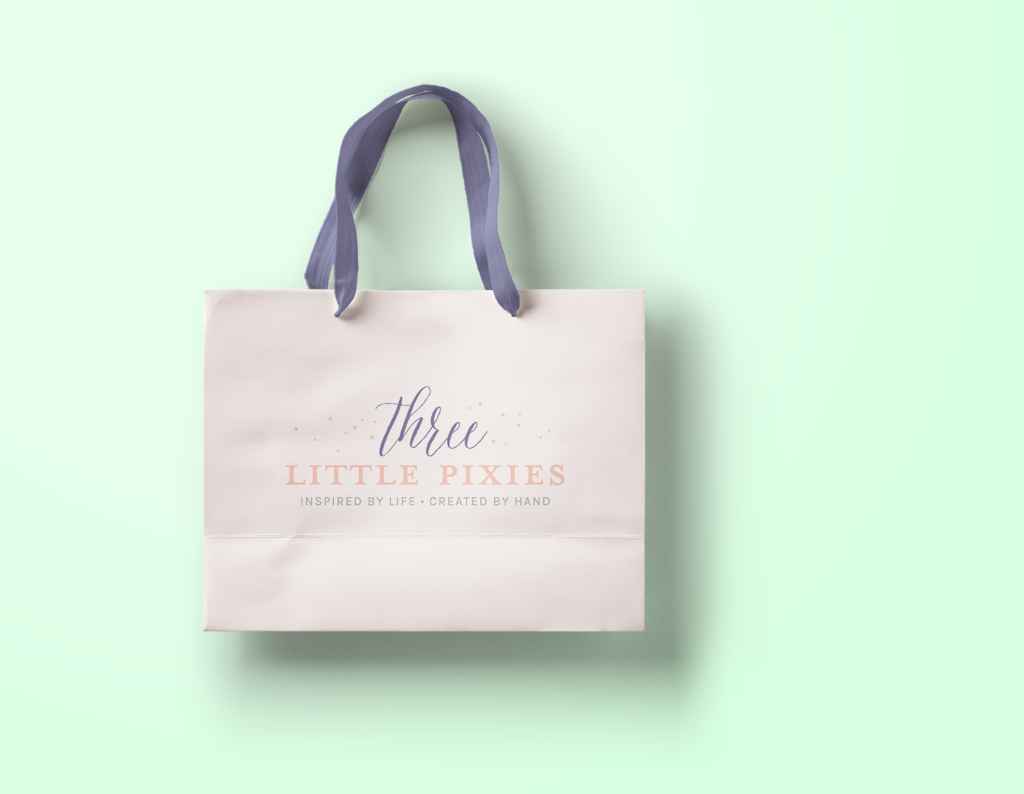 logo design, logos, logo tips, branding, brand design, three little pixies