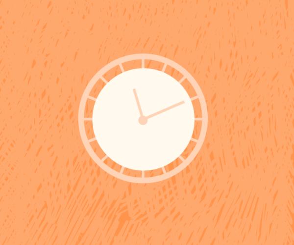 Illustration of a clock